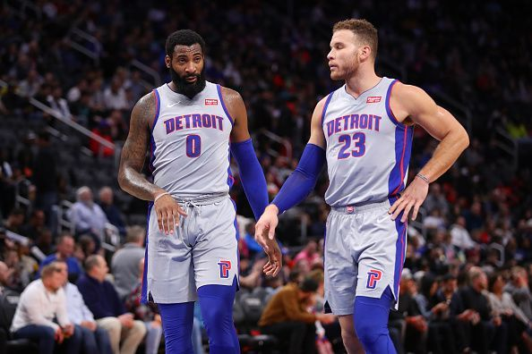 Andre Drummond and Blake Griffin have both been linked with a trade away from the Detroit Pistons