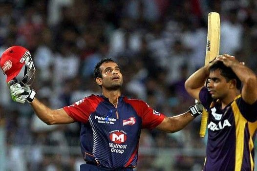 Irfan Pathan scored most runs in IPL while coming up the order