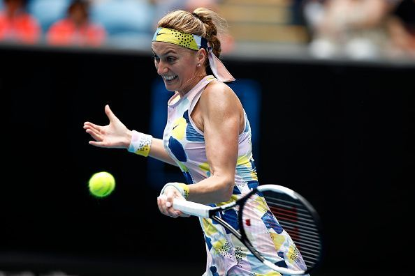 Can Petra Kvitova slay her Greek opponent?