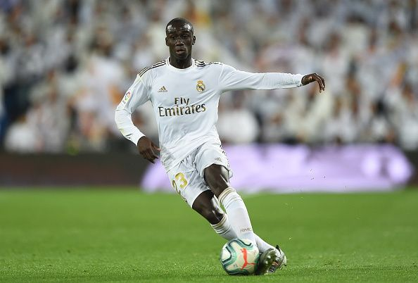 Ferland Mendy of Real Madrid