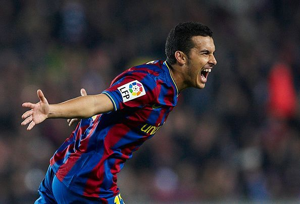 Pedro won 20 trophies with Barcelona before moving to Chelsea