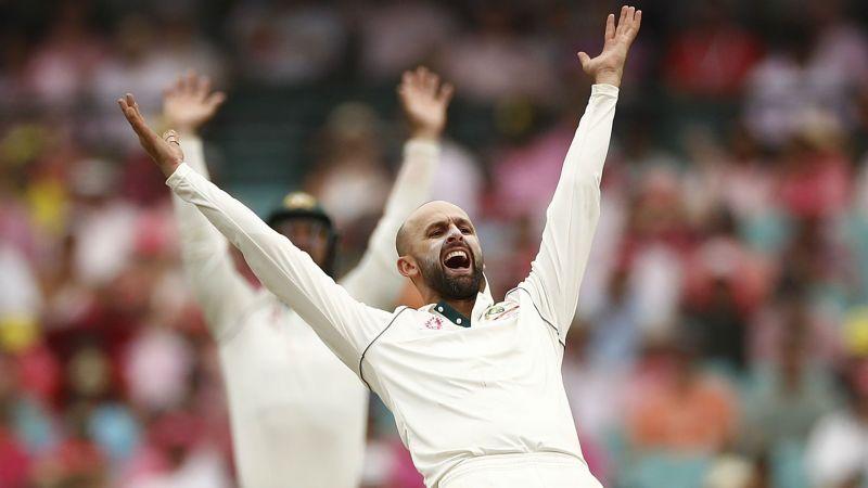 Australia bowler Nathan Lyon