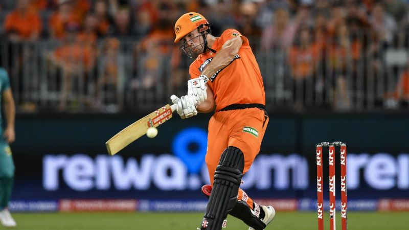 Perth Scorchers captain Mitchell Marsh