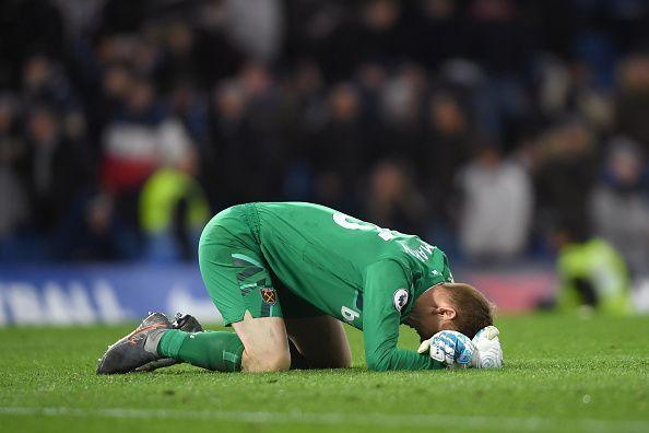 A clean sheet on debut, away at Stamford Bridge by David Martin