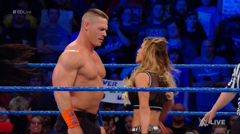 Cena and Carmella