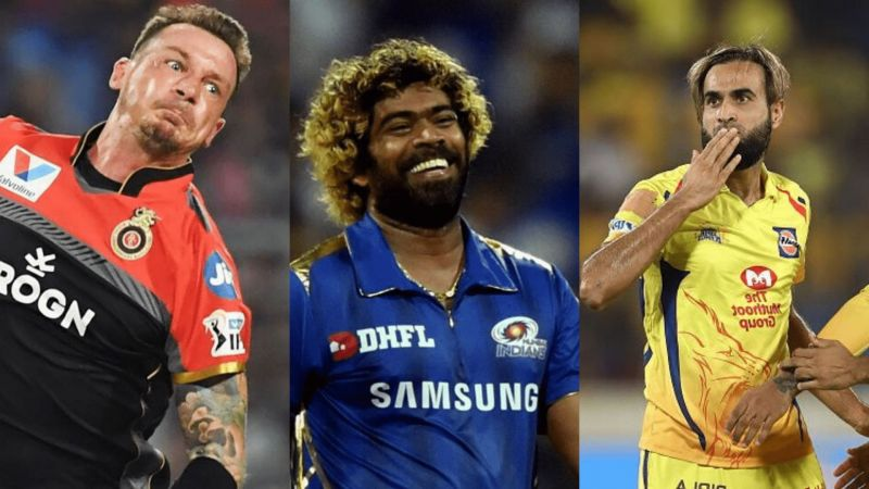 Dale Steyn, Lasith Malinga, and Imran Tahir are amongst the oldest players of their respective franchises