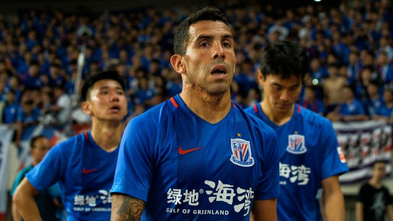 The Argentine striker came under criticism for his fitness during his time in China