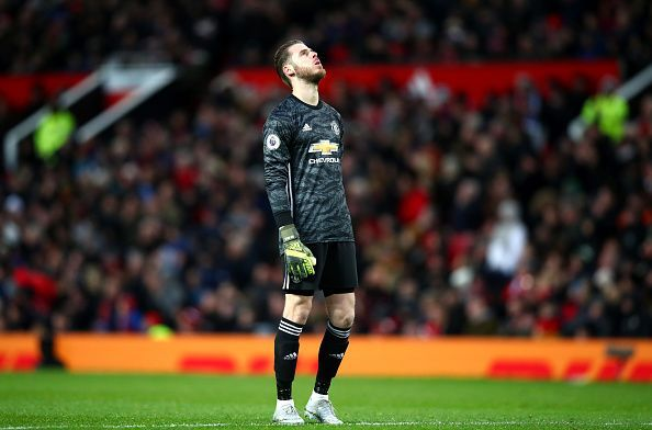 The Manchester United keeper has not been performing at his best since the last two seasons