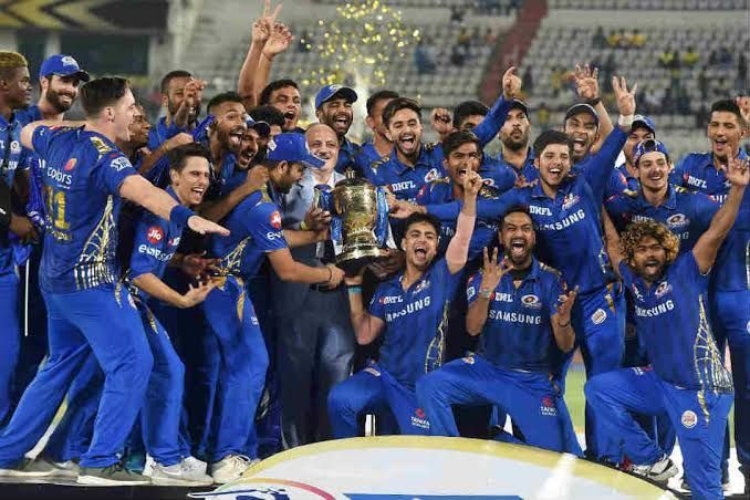 Mumbai Indians clinched the title in 2019