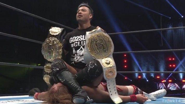 KENTA had the last laugh at the Tokyo Dome (Image Courtesy: NJPW)