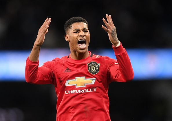 Marcus Rashford has been in top form for Manchester United this Premier League season