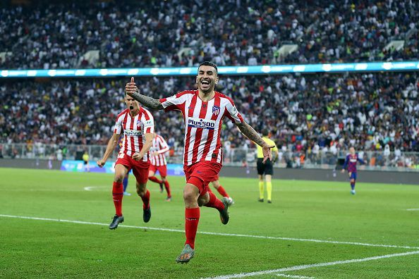 A persistent Atletico Madrid saw off Barcelona to reach the finals