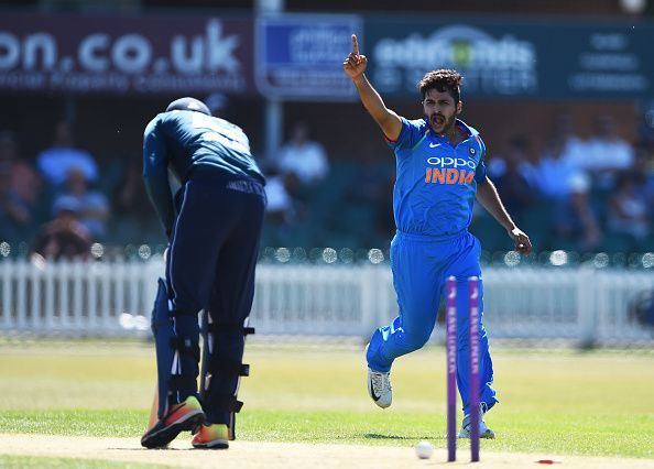 Shardul Thakur is a part of the Indian team that will face Sri Lanka in the T20I series