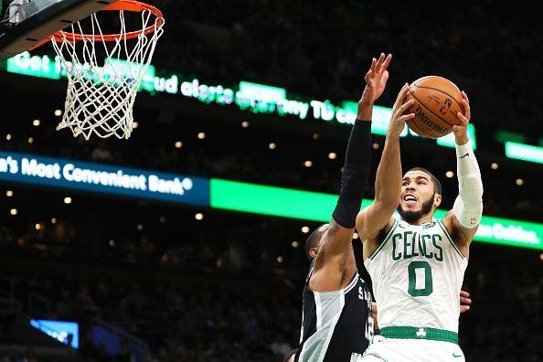 Tatum has led the Boston Celtics from the front