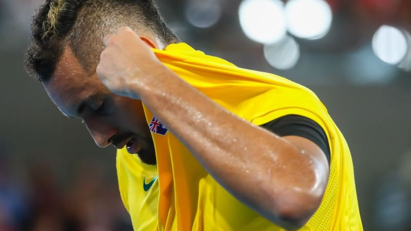 2020 is a big year for the Australian Nick Kyrgios