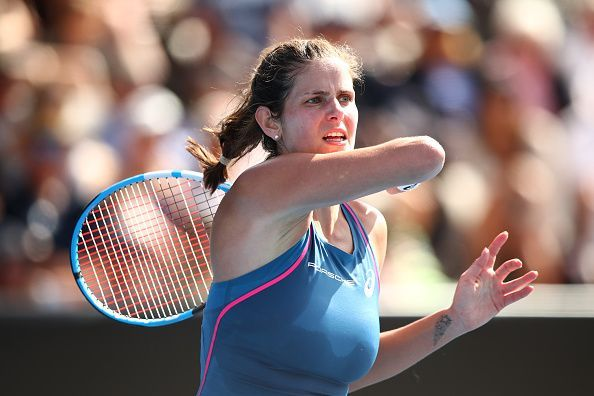 Julia Goerges is the two-time defending champion
