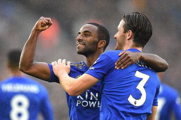 Ben Chilwell and Ricardo Pereira have formed one of the Premier League
