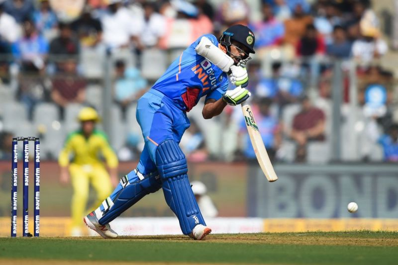 Shikar Dhawan batted well for his half century