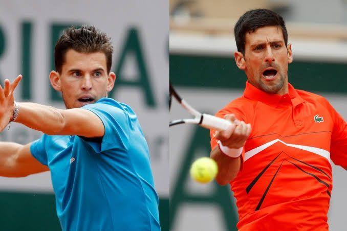 Can Dominic Thiem (left) make his Grand Slam breakthrough against Novak Djokovic?