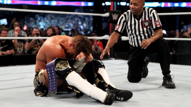Buddy Murphy reacts to his dream hometown win that saw him clinch the Cruiserweight title