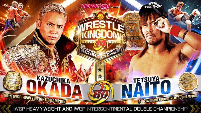 Okada vs. Naito at Wrestle Kingdom 14