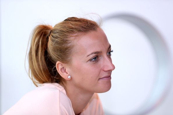 Petra Kvitova, who has made it to the semifinals, could only play on the centre court after group play of the ATP Cup ended on Wednesday