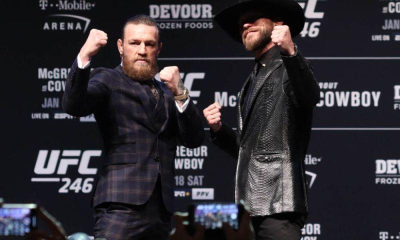 UFC 246: McGregor vs. Cowboy (Image Courtesy - Essentially Sports )