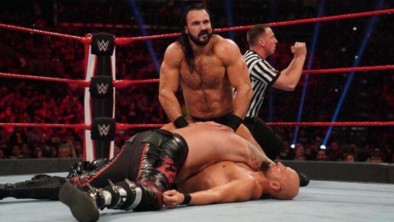 Drew McIntyre makes a statement on RAW