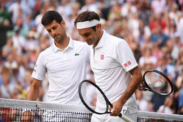 Djokovic and Federer ruled over Wimbledon again in 2019