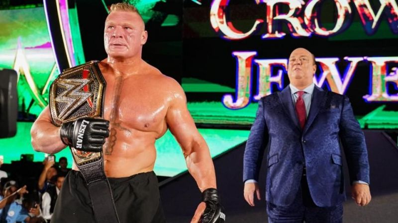 Brock Lesnar could be done with WWE.