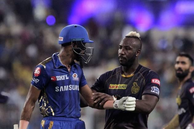 Hardik Pandya and Andre Russell