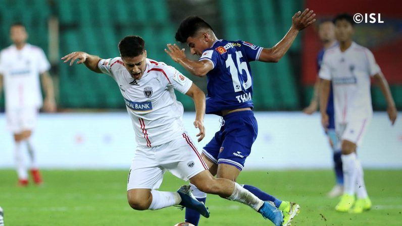 Coyle has been impressed by the likes of Anirudh Thapa (R)