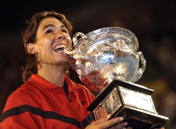 Nadal last tasted success at the Australian Open ten years ago.