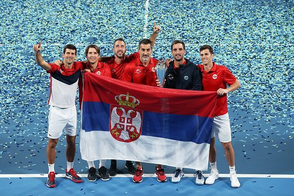 2020 ATP Cup champions: Team Serbia