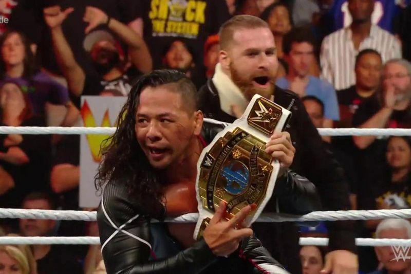 WWE इंटरकॉन्टिनेंटल चैंपियन शिंस्के नाकामुरा