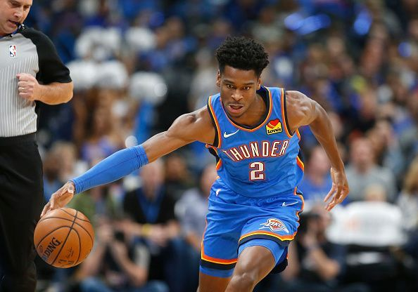 Shai Gilgeous-Alexander has been excellent throughout his first few months with the Thunder