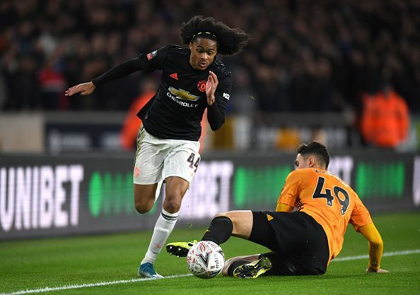 Yet again, Tahith Chongs failed to impress for Manchester United