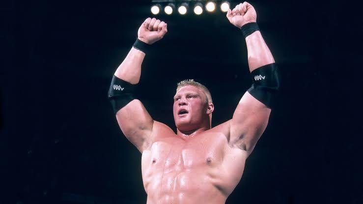Brock Lesnar won the Royal Rumble in 2003