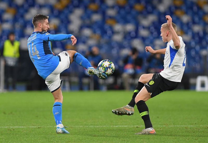 SSC Napoli v KRC Genk: Group E - UEFA Champions League