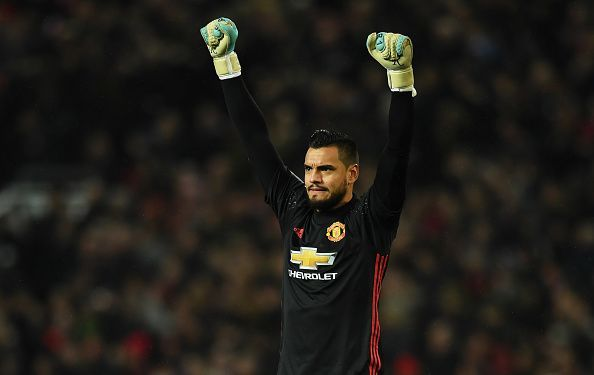 Sergio Romero was at his brilliant best for Manchester United