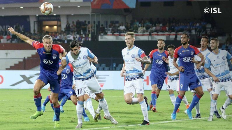 Bengaluru were a constant menace from set-pieces