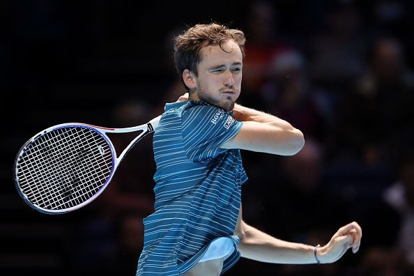 Daniil Medvedev, much his like opponent, has made light work of his opponents so far.