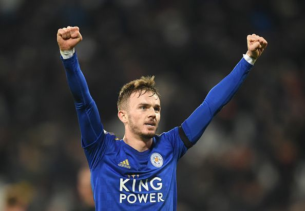 James Maddison has been Leicester City