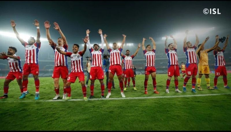 ATK put up a performance that was worthy of sending them to the top of the ISL points table (Credits - ISL)