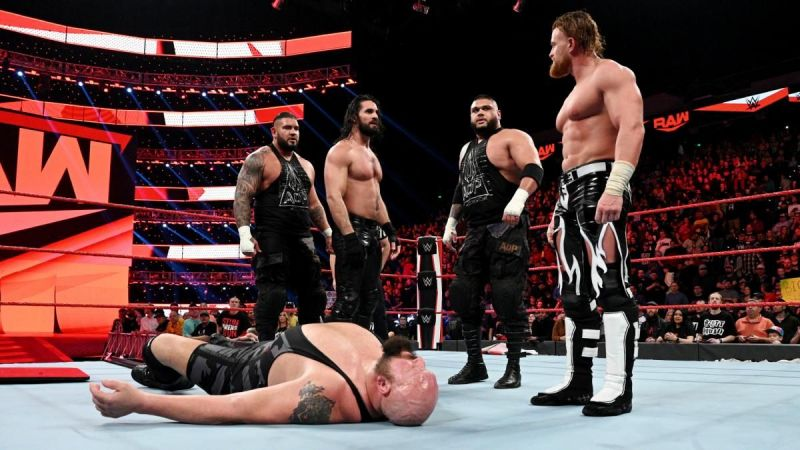 Murphy joined the heel faction for a new beginning