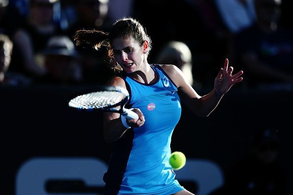 Goerges serve and forehand easily ranks among the best on tour.