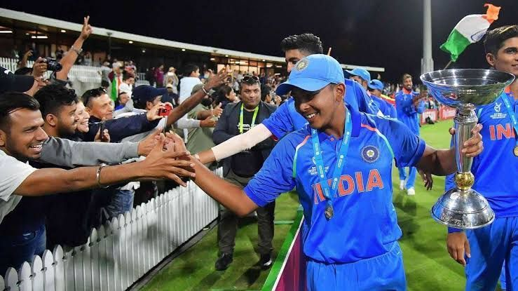 India won the 2018 U19 World Cup