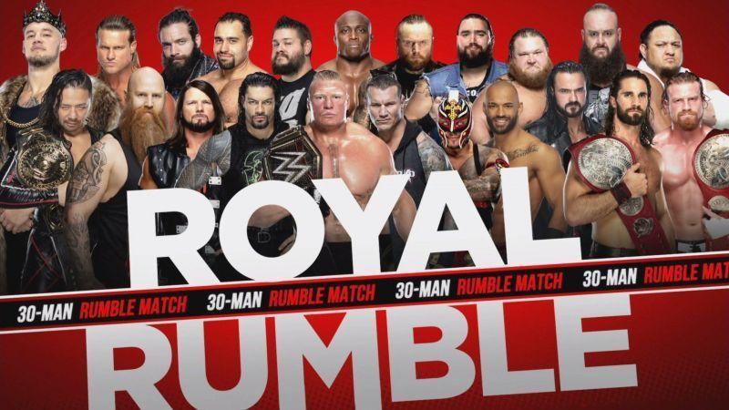 रॉयल रंबल मैच के लिए 22 सुपरस्टार्स कर चुके हैं अपने नाम का ऐलान