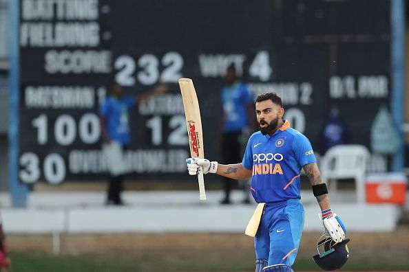 Kohli is set to become the leading run-scorer in T20Is when India play Sri Lanka on Sunday