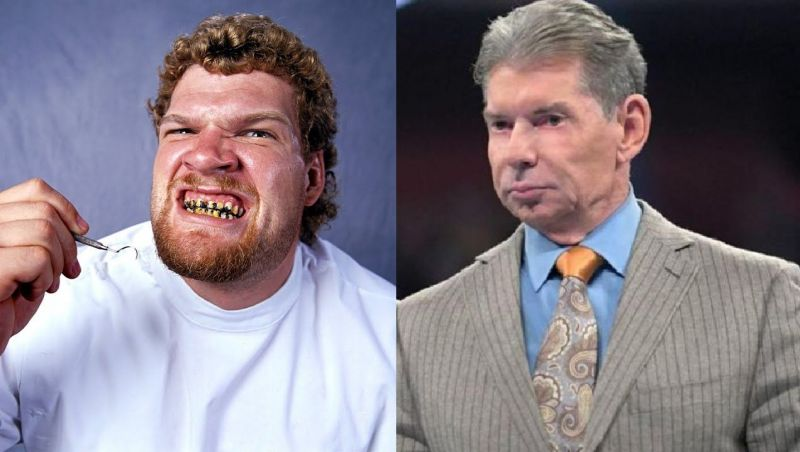 Isaac Yankem and Vince McMahon